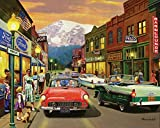 White Mountain Puzzles Main Street Jigsaw Puzzle (1000 Piece)