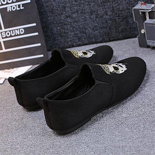 de hombres planos la y de Comodidad 2018 GLSHI del casuales de nuevos primavera B los zapatos verano mocasines los moda Zapatos bordado guisantes ftwZnxaqn
