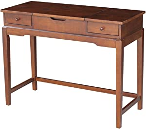 International Concepts DT581-2 Vanity Table, Espresso