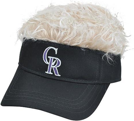 Colorado Rockies MLB CREDO instinto visera ventilador ajustable Velcro Beige pelo sombrero gorra: Amazon.es: Deportes y aire libre