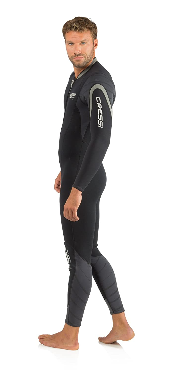 Cressi Mens Front-Zip Full Wetsuit for Water Activities ...
