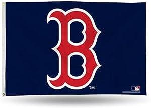 "MLB Red Sox ""B"" Logo 3 x 5 Foot Banner Flag"