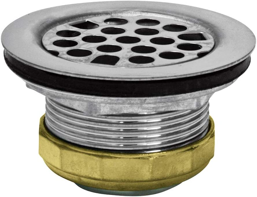 Highcraft 9793 Flat Stainless Steel Rv Mobile Shower Strainer Drain Assembly For Bar Or Bathroom Sinks Small Amazon Com