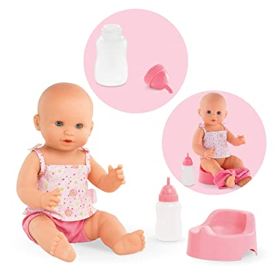 Corolle Mon Grand Poupon Emma Drink &-Wet Bath Baby Toy Baby Doll: Toys & Games