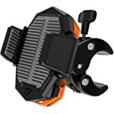 TaoTronics Bike Phone Mount, Phone Holder for Bike with Universal Cradle Clamp for iOS & Android Smartphones, Bicycle Holder with One-Button Release