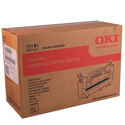 43853101 Oki C6100n Unidad de fusor: Amazon.es: Oficina y ...
