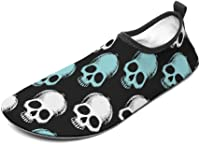 Chaussures de bain tête de mort 1