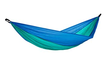 amazonas hammock ultra light adventure hammock ice blue 275 cm x 140 cm maximum load amazonas hammock ultra light adventure hammock ice blue 275 cm x      rh   amazon co uk