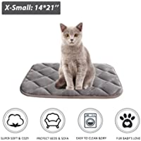 Furrybaby Extra Small Pet Crate Mat in Silver Grey