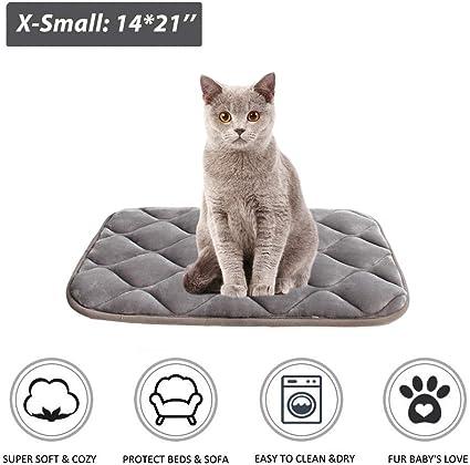 Comfort Pet Dog Cat Bed Soft Crate Mat Cushion and Cozy Crate Pad Nap Mat