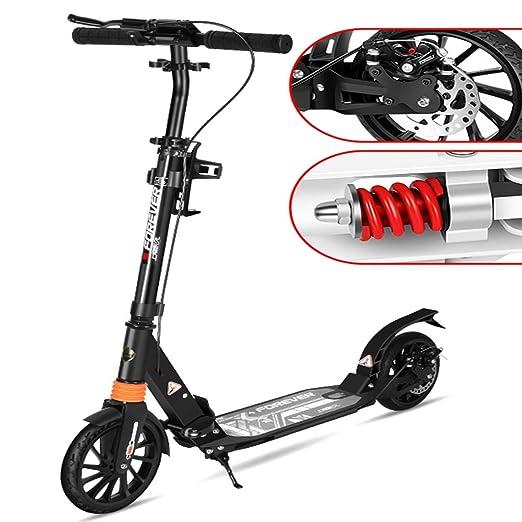 ZAQI Patinetes Scooters para Adultos de hasta 150 kg, Liso ...