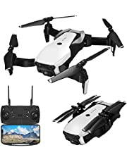 Drones with Camera 1080P for Adults,EACHINE E511 WiFi FPV Live Video Quadcopter with 120° FOV 1080P HD Camera, 17mins Long Flight Time Foldable RC Drone RTF - Altitude Hold, 3D Flip, APP Control