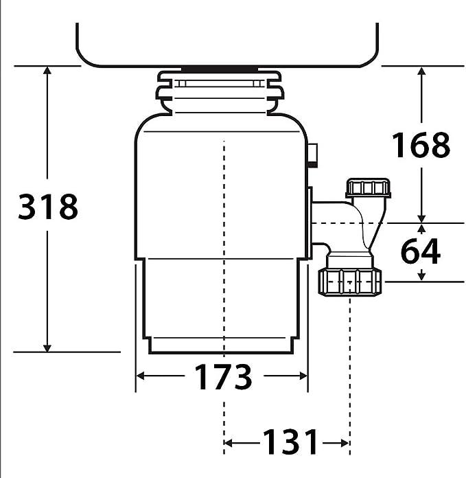 Triturador de desperdicios para fregadero, con interruptor, de la ...