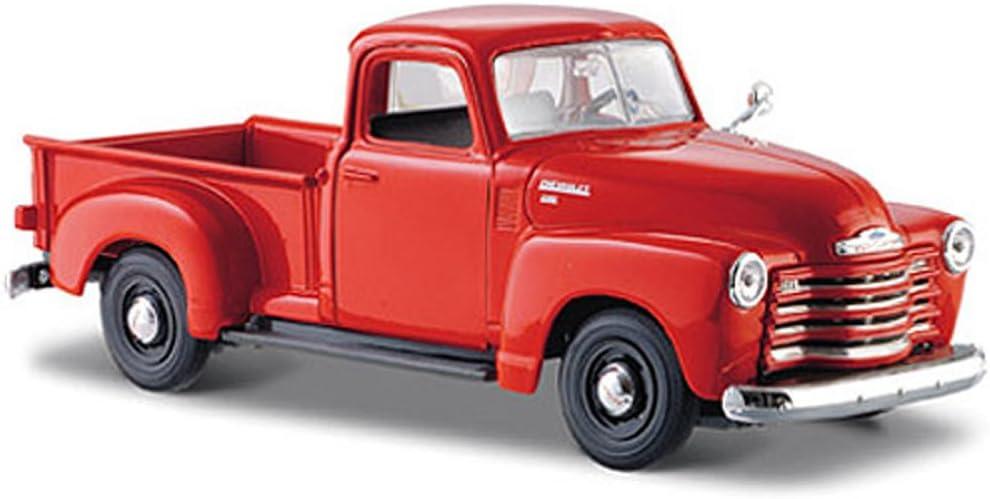 1:25 Die Cast Maisto 31952 Orange 1950 Chevrolet 3100 Pickup