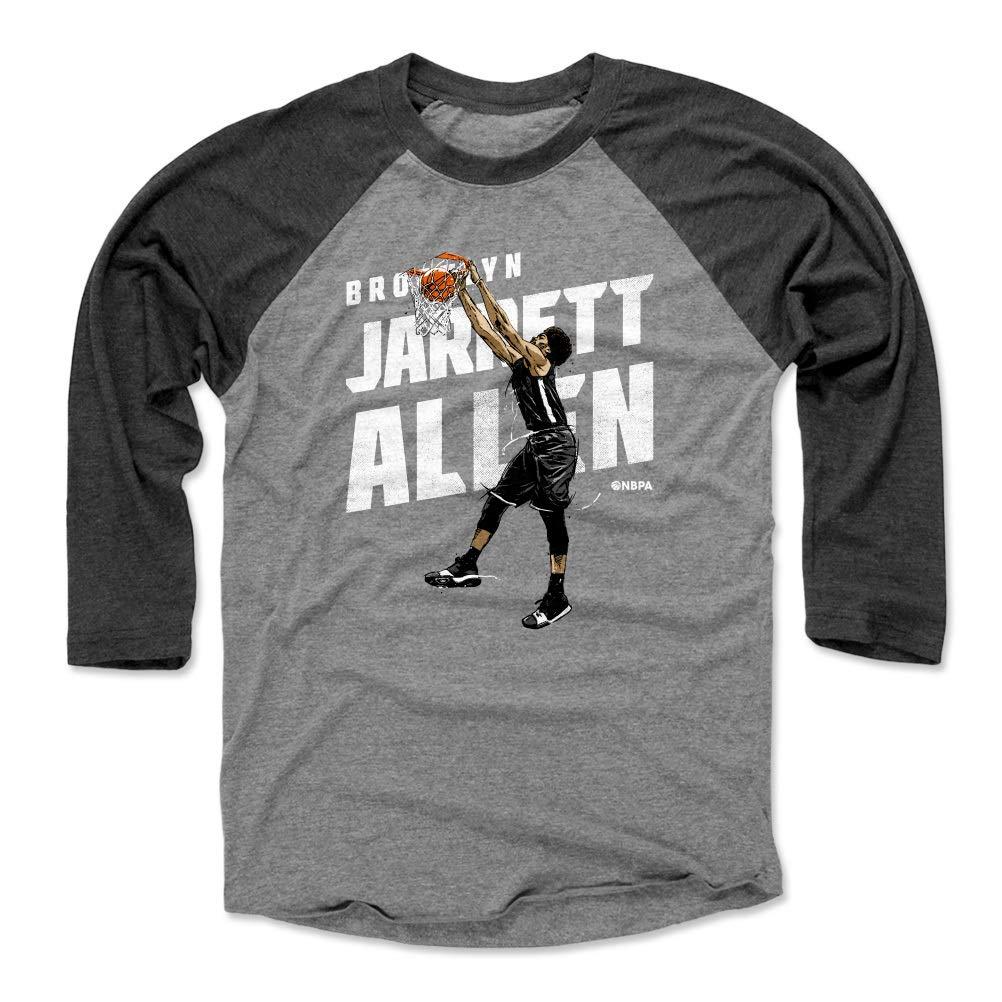 c703c49d Amazon.com : 500 LEVEL Jarrett Allen Shirt - Vintage Brooklyn Basketball  Raglan Tee - Jarrett Allen Slam : Clothing