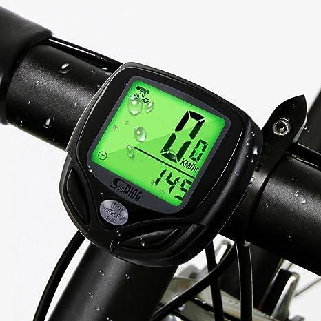 mixigoo Ciclocomputador Bicicleta Inalámbrico Bicicleta ...