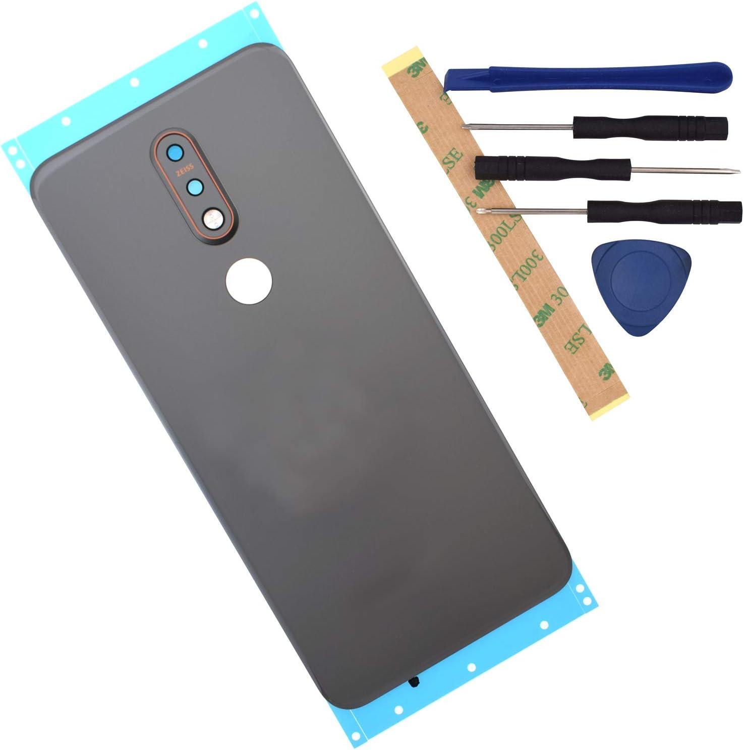 Tapa de cristal para Nokia 7.1 (xam)