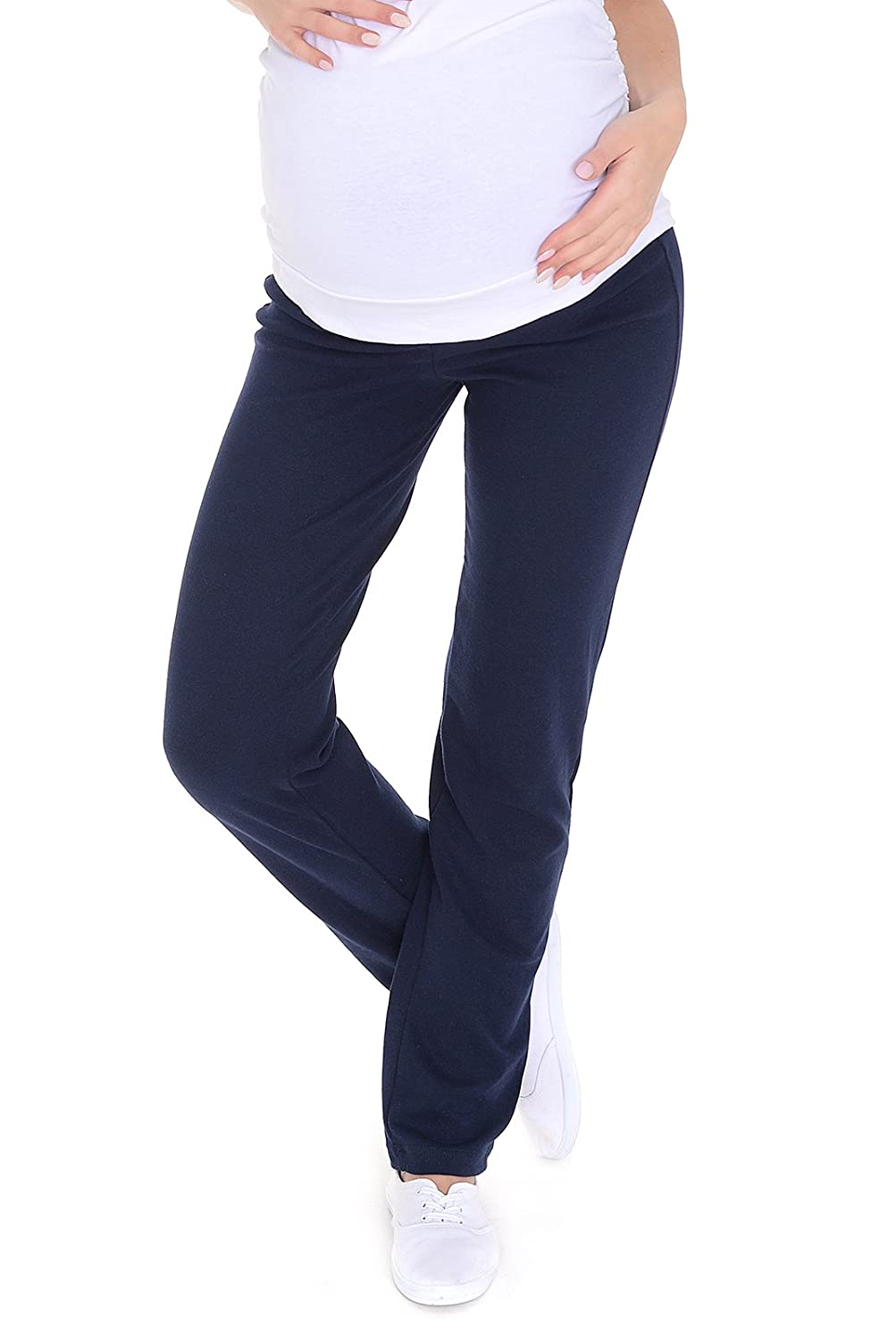 Pantalon de maternit/é d/écontract/é et confortable pour yoga Over Bump 3010 Mija