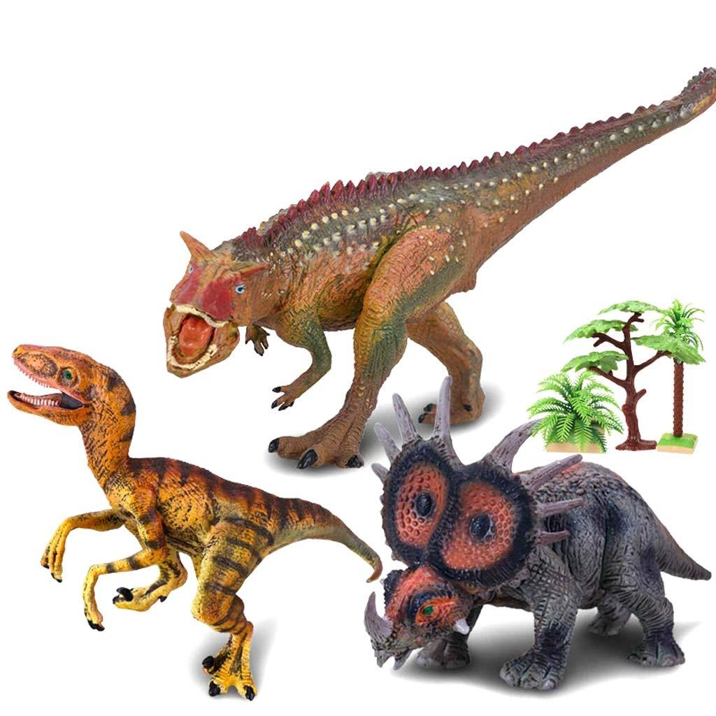 Kaiyu Simulación de Juguete de Juguete de Juguete estatuilla Jurásico Tyrannosaurus Juguete Dinosaurio de Juguete Dinosaurio de plástico Modelo (Size : 4)