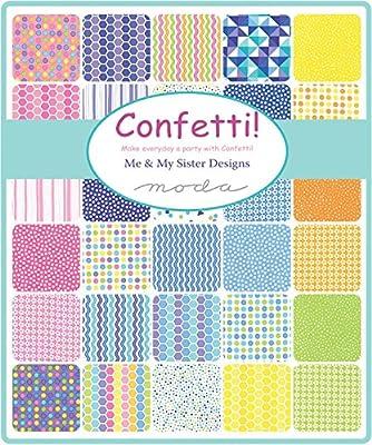 Confetti Mini Charm Pack by Me y mi hermana Designs; 42 – 2,5