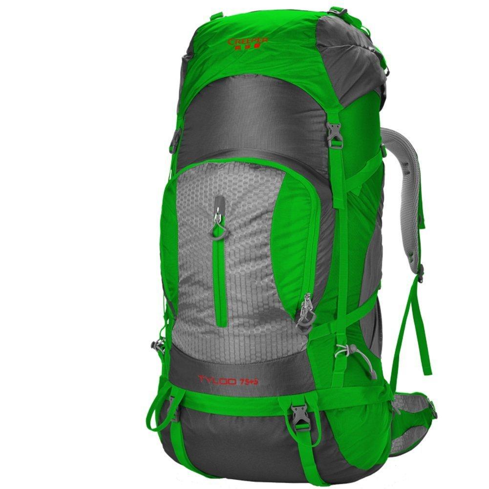 ALUK-Outdoor-Klettern Tasche / Reisetasche Schultern / 80L Tactical / Outdoor-Camping-Wanderrucksack-grün 80L