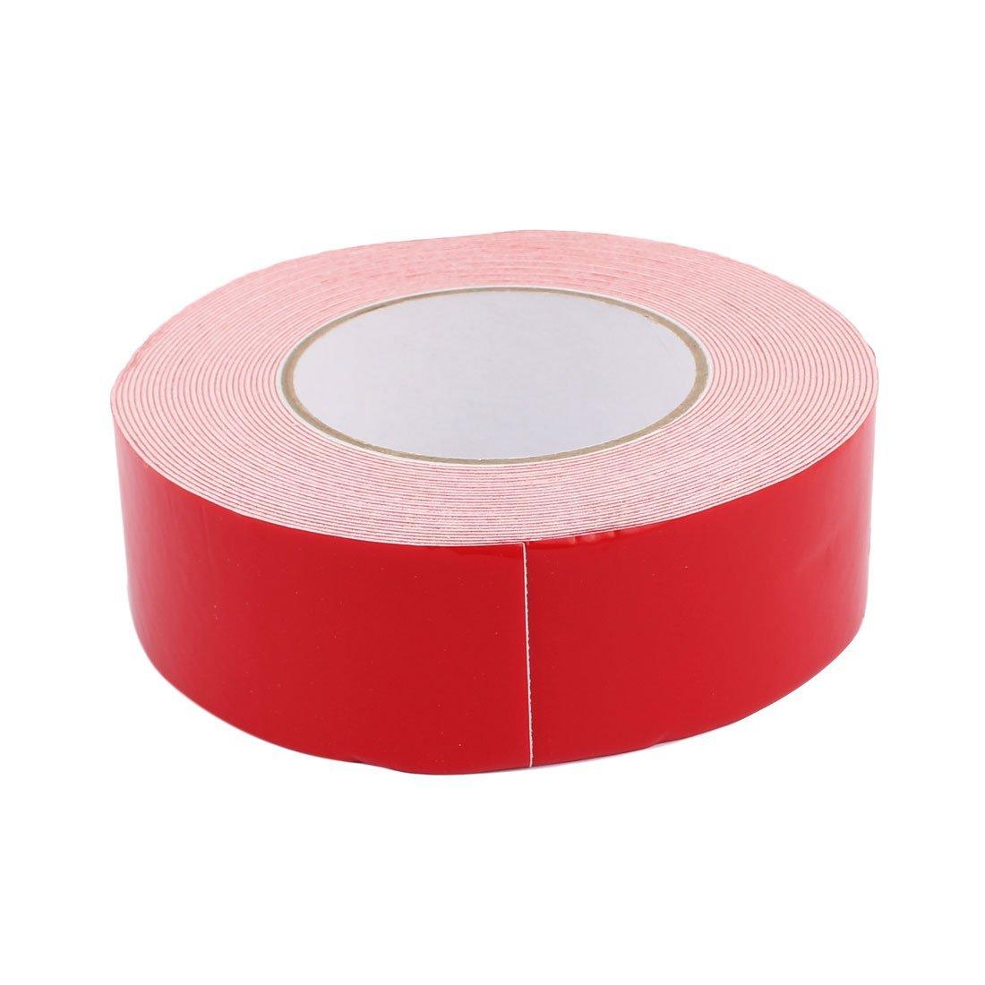 eDealMax 10M Largo x Ancho 45mm blanca doble cara auto-adhesivo de la cinta de espuma de la esponja para el coche - - Amazon.com