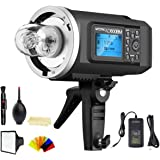 Godox AD600BM Bowens Mount 600Ws GN87 High Speed Sync Outdoor Flash Strobe Light with 2.4G Wireless X System, 8700mAh…