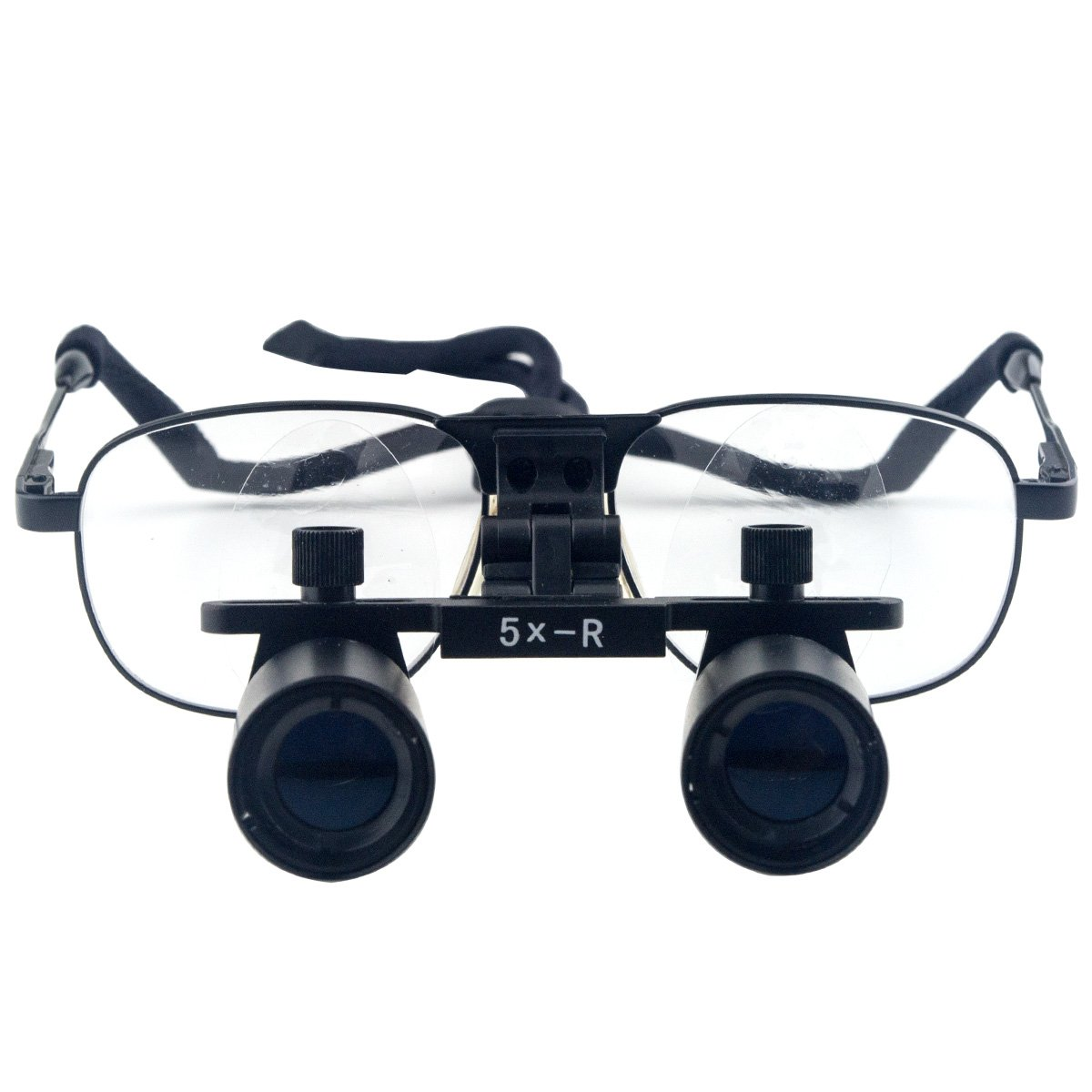 Dental Surgical Loupes Medical Binocular Optical Magnifying Loupes 360 - 460 Working Distance (5.0x Magnification)