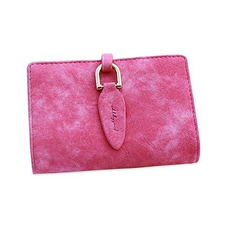 Zhi Jin Porte Cartes Pour De Credit Et Visite Style Feminin 20 Emplacements Carte Rose Rouge Amazonfr Fournitures Bureau