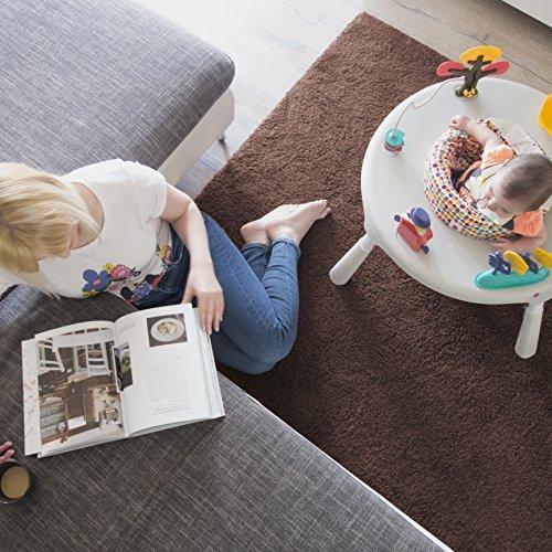 61VzyXrJ0eL - Oribel PortaPlay 4-in-1 Foldable Travel Baby Activity Center (Grey)