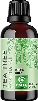 100% Tea Tree Oil Pure - Tea Tree Essential Oil for