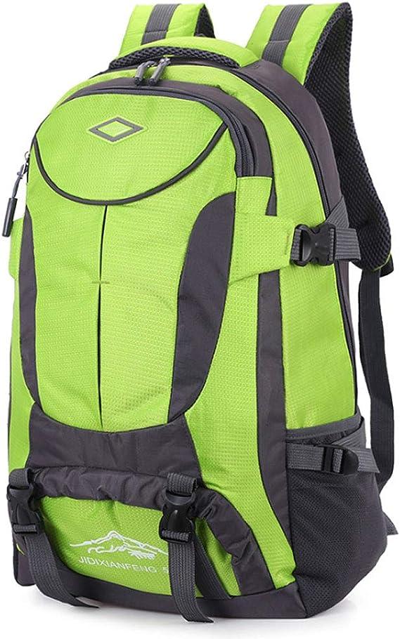 Qingduqijian Multi-Functional Backpack Color : Black Rucksack Outdoor Waterproof Travel Large Capacity Leisure Backpack