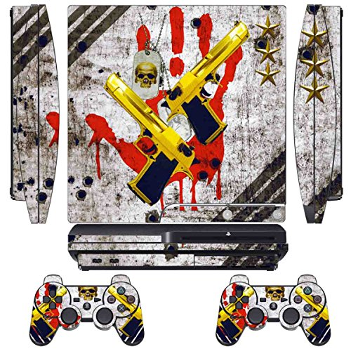 Skin Sticker for PS3 PlayStation 3 DualShock 3 Decals Cus...