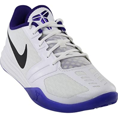 nike KB Mentality Mens Basketball Shoes White (8.5)