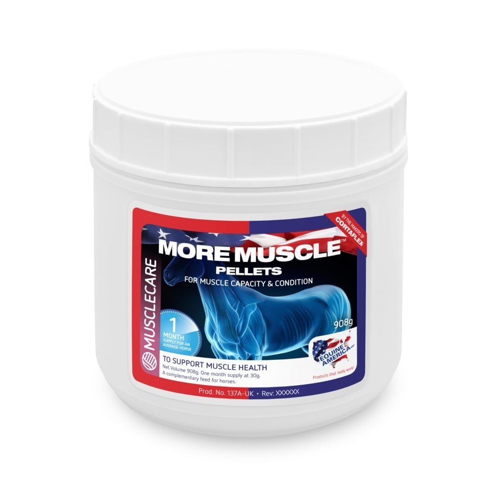 Equine America More Muscle Pellets 908G by Equine America