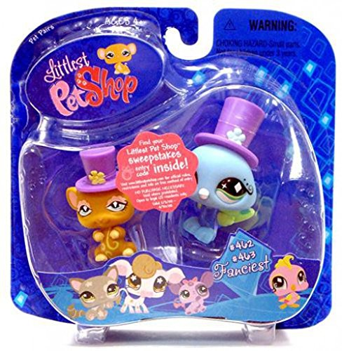 Littlest Pet Shop: Pairs and Portables - Rat and Peacock