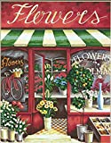 Dimensions Crafts Paintworks Paint by Number Kit, Flower Shop