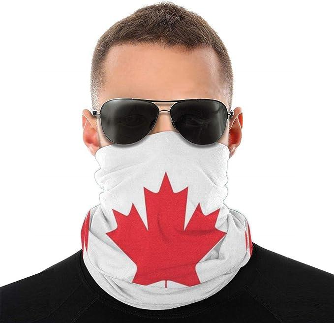 Alberta Province Flag Grunge Face Mask Neck Warmer Gaiter Bandana Scarf Balaclava 12 in 1 Multifunctional Headwear for Outdoor Sports