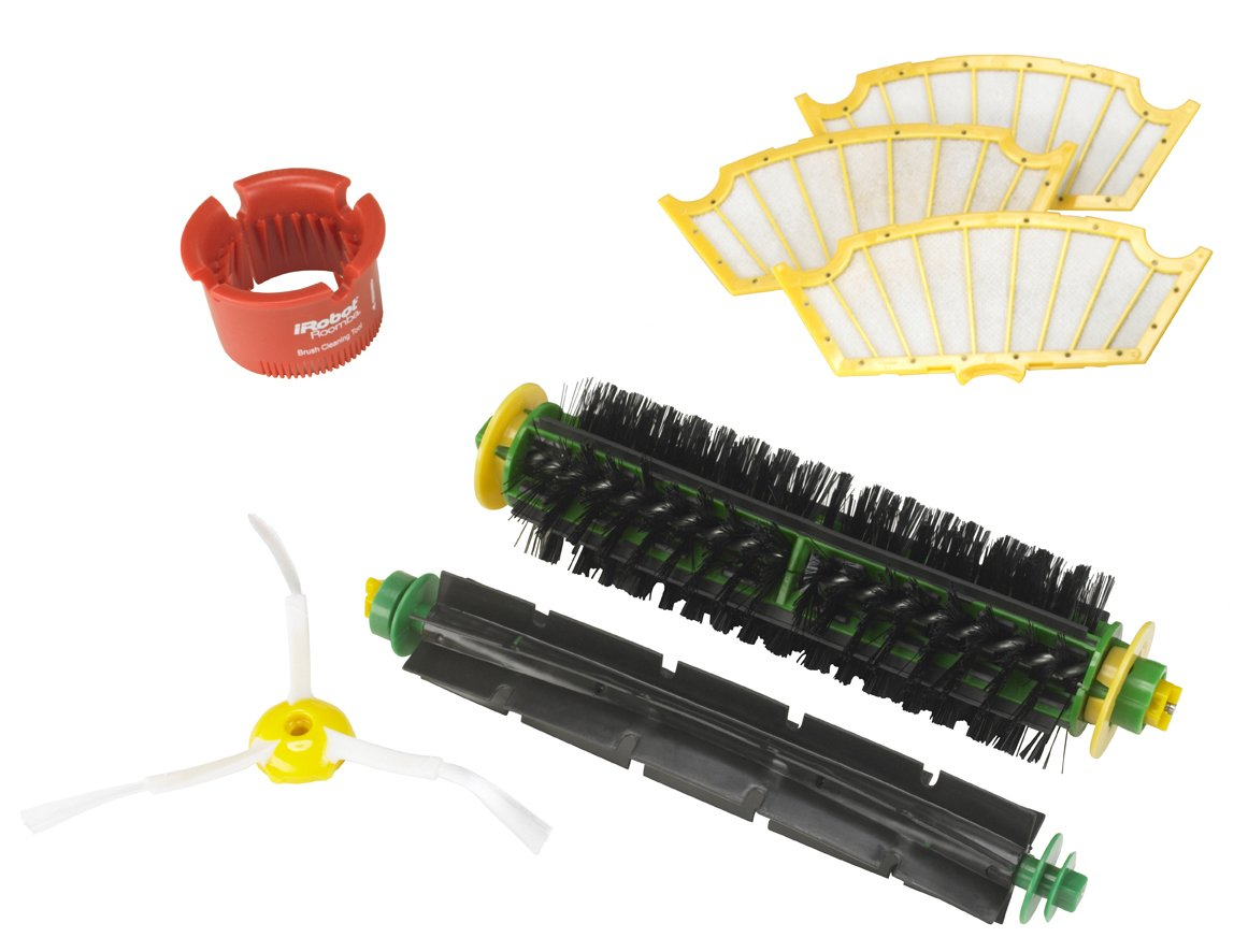 iRobot Roomba 500 Series Replenishment Kit For Red and Green Cleaning Heads