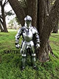 NauticalMart Renaissance Medieval Suit of Armor Wearable - LARP, reenactment costume