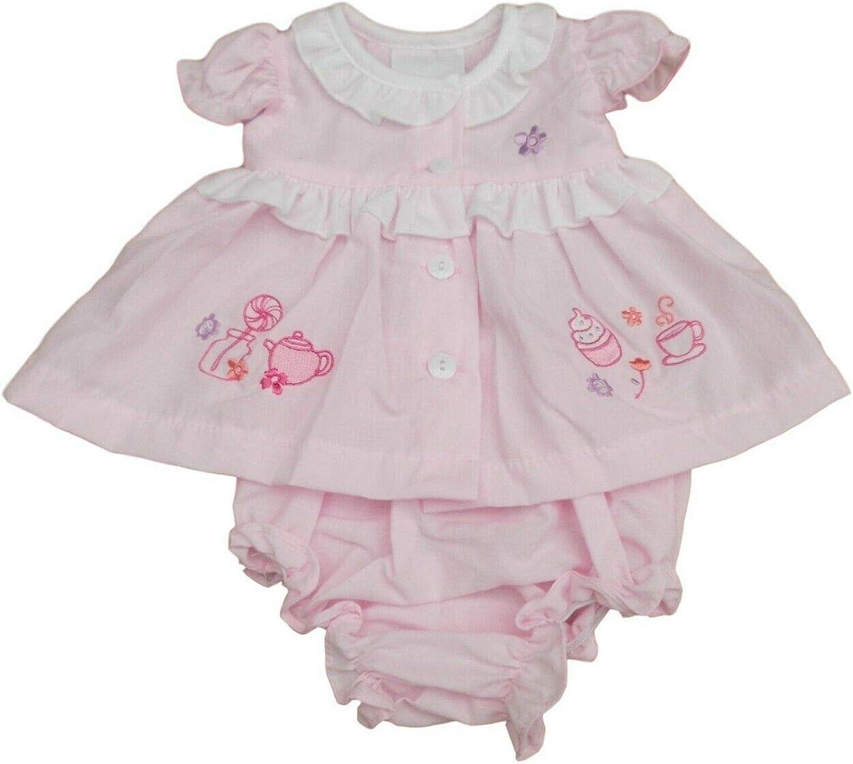Nursery Time BNWT Tiny Premature Preemie Baby Girl Little Teacup Summer Dress