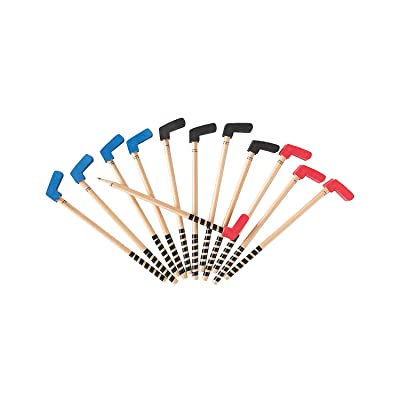 Hockey Stick Pencils (set of 12) Sports Party Supplies: Toys & Games