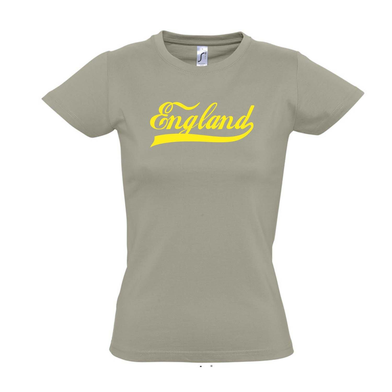 WM FAN Trikot S-XXL Damen T-Shirt England Oldschool L/ÄNDERSHIRT EM