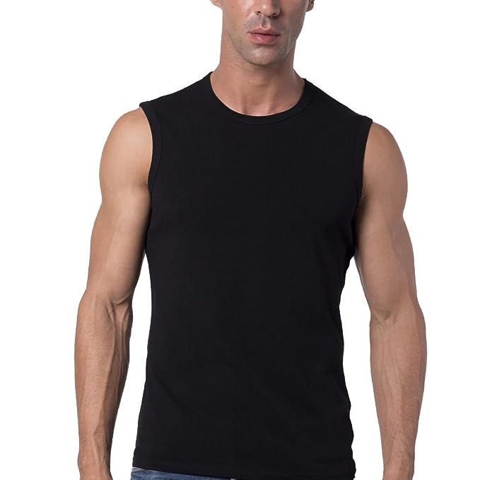 sleeveless t shirt for man