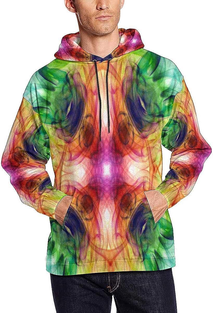 INTERESTPRINT Mens Novelty Hoodies Sweatshirt Pockets
