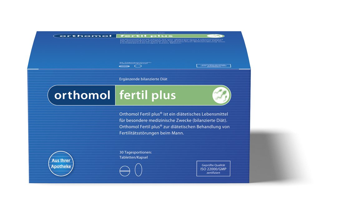 Orthomol Fertil Plus Pack by Orthomol