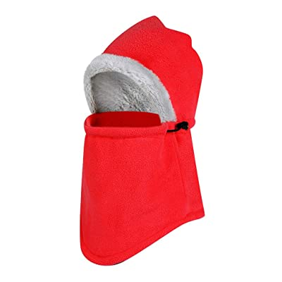 WINJUD Mens Windproof Ski Mask Cold Weather Face Motorcycle Mask Outdoor Fleece Warm Cap at Men's Clothing store