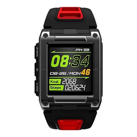 UKCOCO S929 GPS Smartwatch de natación, Reloj Deportivo a Prueba de Agua Reloj Inteligente Monitor