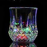 Zeerkeer Wine Glass Mug with Automatic Flash Light