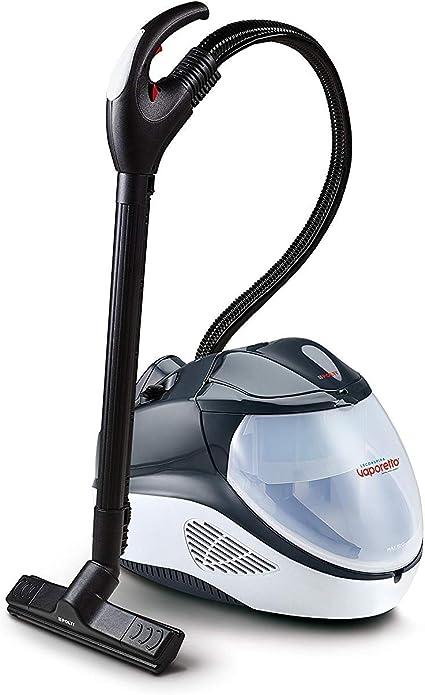 Polti Vaporetto Lecoaspira FAV70_Intelligence Limpiador a vapor y aspirador con filtro de agua, 6 programas automáticos, 5,5 Bar, Negro y blanco: Amazon.es: Hogar